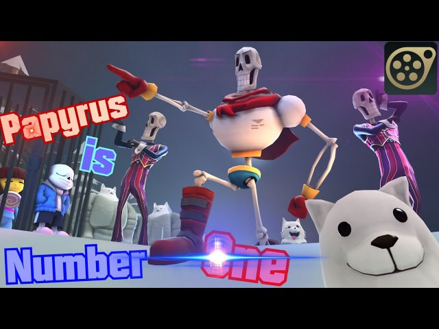 SFM Undertale Papyrus IS NUMBER ONE