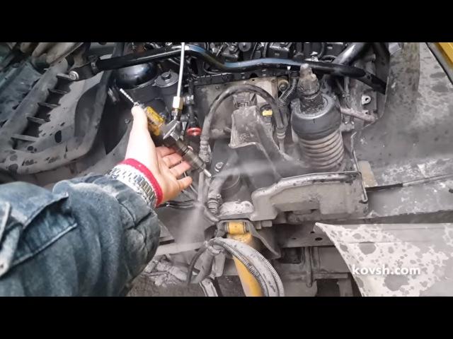 Причина неработающего цилиндра Mercedes Benz Atego 4 3d и как ее определить