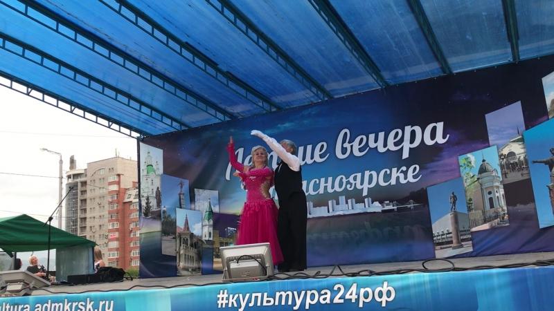 полуфинал 08 2017 В Семенов и Елена Акбаш