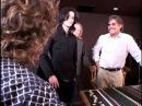 Michael Jackson RARE with Geraldo Rivera in recording Studio 2005