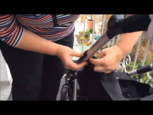 Umbau Gesslein Kinderwagen F4 zum Buggy