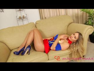 Candice collyer uniform striptease