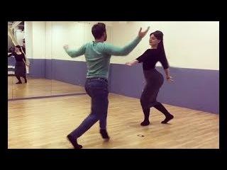 Моника Великолепно Танцует Грузинские Танцы