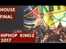 HOUSE FINAL | Wesley ( Winner )vs Steve Veusty | HipHop Kingz 2017