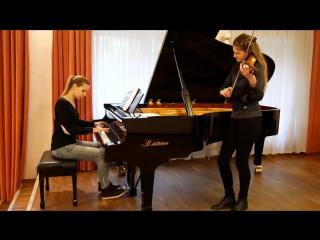 Король и Шут - Проклятый старый дом (кавер на скрипке и пианино)