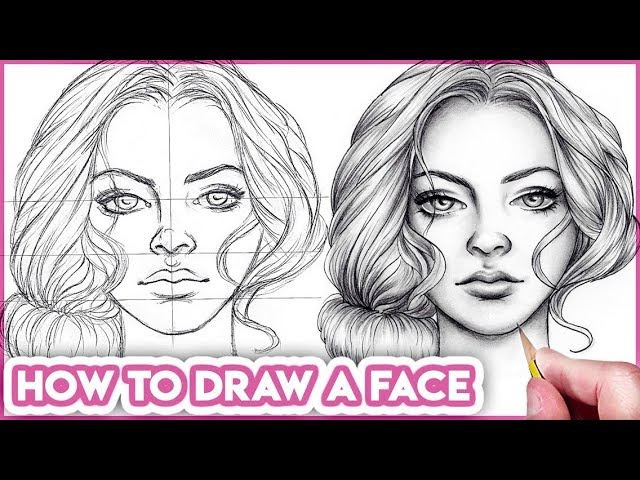 How to Draw Faces for Beginners Basic Proportions
