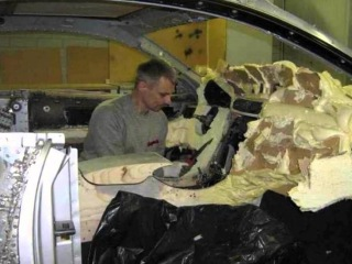 In-Home Junk Car Luxury Transformation - Rags to Riches!