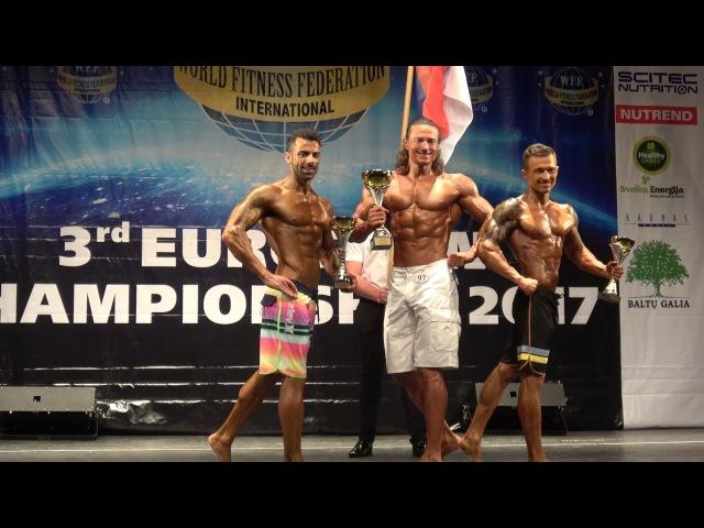 Results Men Boardshorts WFF European Championship 2017
