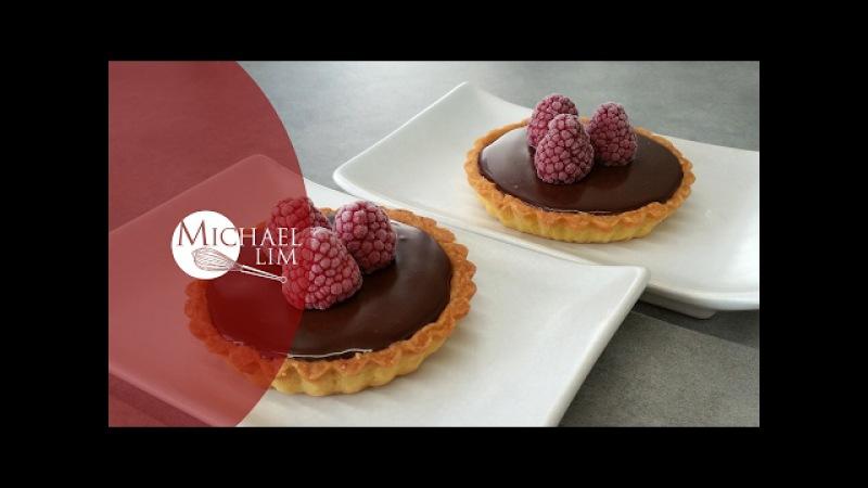 Rasberries Chocolate Tartlets