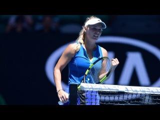 Caroline Wozniacki vs Donna Vekic Highlights  2017