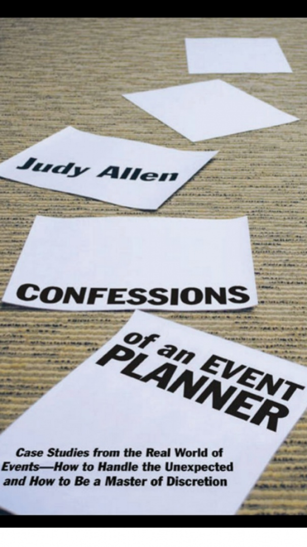 Confessions of an Event Planner Case