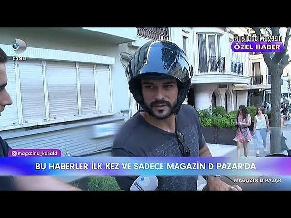 Burak Özçivit ve Fahriye Evcen çifti kamera karşısına mı geçiyor Magazin D 8 Temmuz 2018