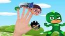 СЕМЬЯ ПАЛЬЧИКОВ не НА РУССКОМ Поем песенку про пальчики Finger Family и 1 герои в масках папа пальч