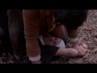 Сцена изнасилования монашки(насилуют, rape) из порно фильма interno di un convento(внутри монастыря) - 1977 год
