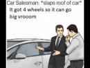 Car salesman slaps