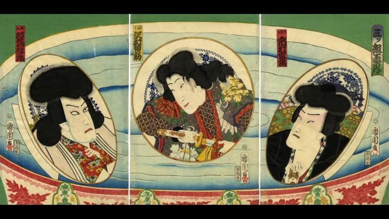 Dan-no-Ura-(Biwa-set-to-Ukiyo-e)