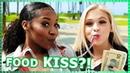 KISSING WITH FOOD?!! | Do it for the Dough w/ Jordyn Jones Arianna Jonae