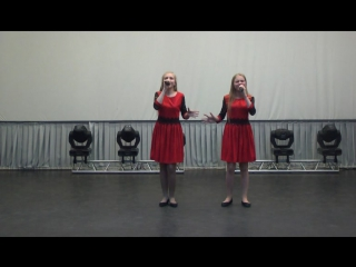 Мои доченьки!Песня на немецком!(_)Лауреаты 3 степени на гала концерте ВН(_)