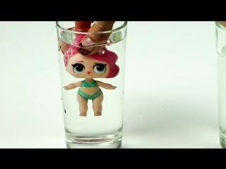 Ультра редкая кукла ЛОЛ сюрприз красиво меняет цвет! Мультик лол куклы открыли шар LOL конфетти