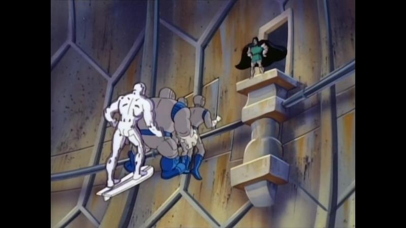 Фантастическая Четвёрка Fantastic Four Серебряный серфер и возвращение Галактуса 8 Серия