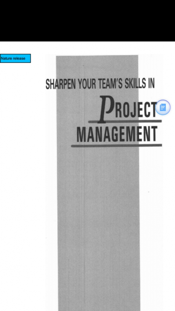 Sharpen Your Team s Skills in Project management
