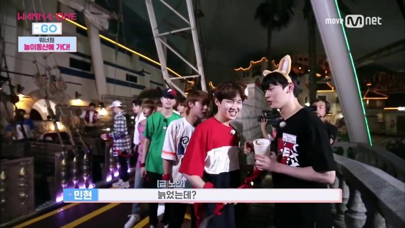 170810 Wanna One Go EP.2 - Странный смех снова пришел к нам ахахахаххахахахах