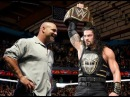 2016 Goldberg Return Face to Face with Roman Reigns Roman Reigns Attack Stephanie and Her Father