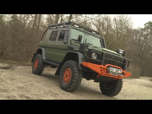 Mercedes G-Klasse - Offroad Sonderanfertigung Bull Jagd-Fahrzeug
