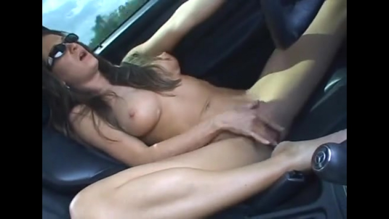 Women masturbating while driving