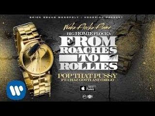 Waka Flocka - Pop That P***y ft. Chaz Gotti & Diego [Official Audio]
