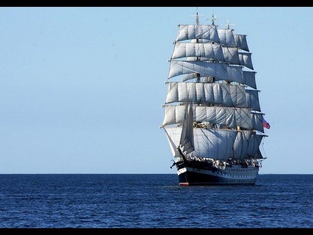 Самое большое парусное судно в мире / The largest sailing ship in the world