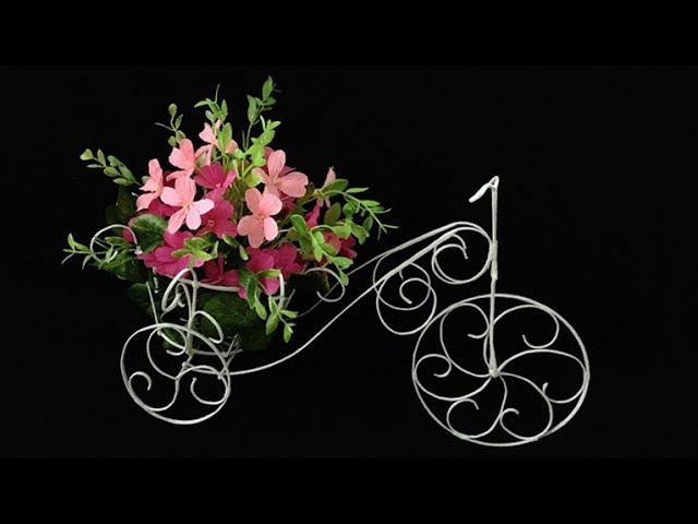 ABC TV | How To Make Flower Bike From Zinc Wire - Craft Tutorial 1