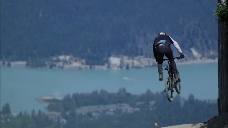 Andi Tillmann lays down the shred on Whistler