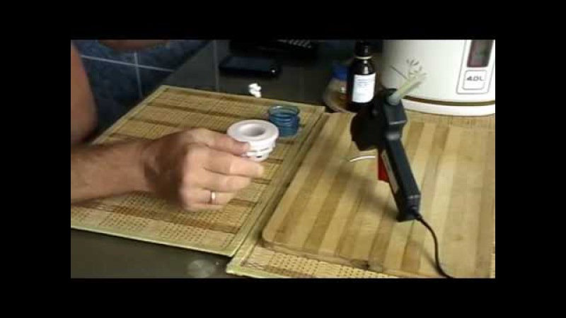 Пивная кега переделанная для браги с гидрозатвором для многоразового пользования