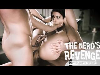 Kristen scott - the nerd's revenge (hardcore, threesome, anal, teen, double penetration, school girl, revenge)
