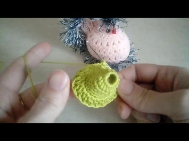 Jak zrobić kurke na szydełku - część I