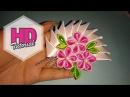DIY Cara Membuat Bros kipas berduri HD Tutorial Kanzashi flower