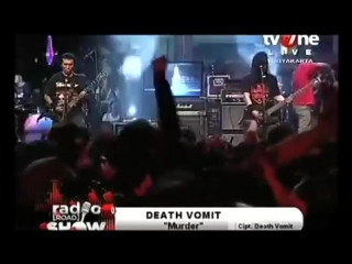 Death vomit live at radioshow tv one yogyakarta