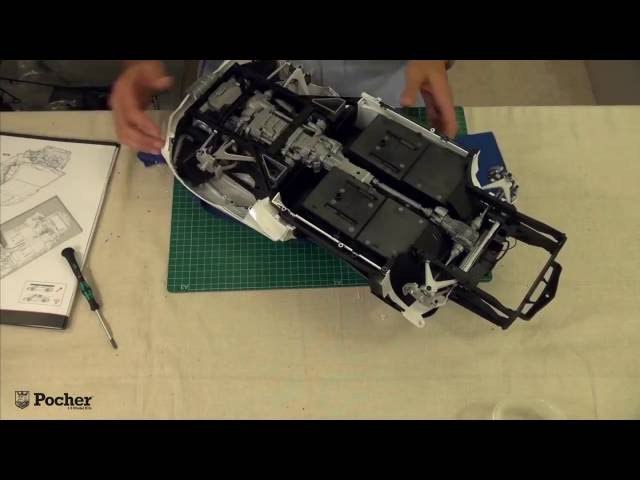 Pocher - HK101 Aventador - Процесс сборки модели