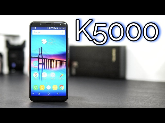 A Phone with a 18 9 Screen a 5000mAh Battery Oukitel K5000 Review