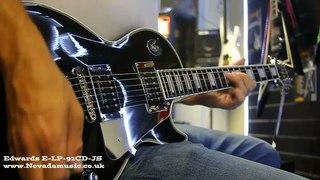 ESP E-LP-92CD-JS John Sykes Guitar
