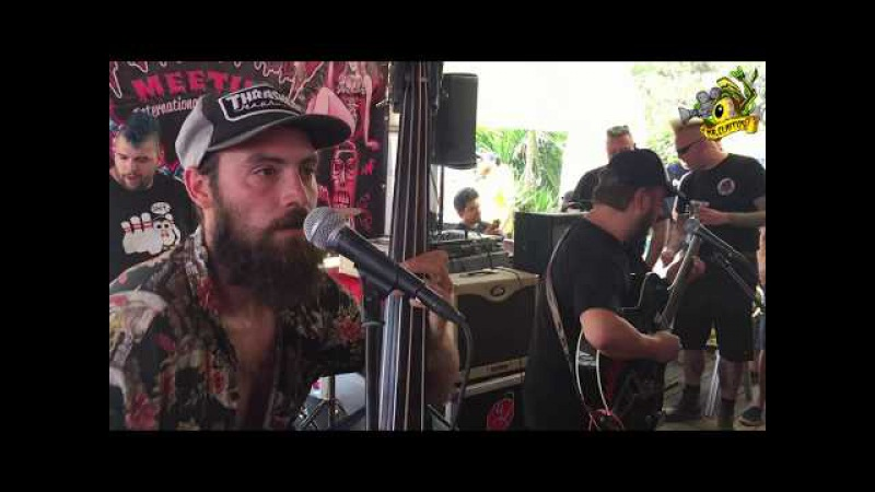 ▲Moggies Live at the Psychobilly Meeting 2017