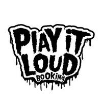 Логотип Play it Loud Booking