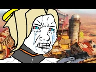 That feel when Mercy nerf