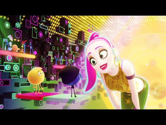 Танцы в Just Dance Эмоджи фильм сцена 6 8 2017 HD