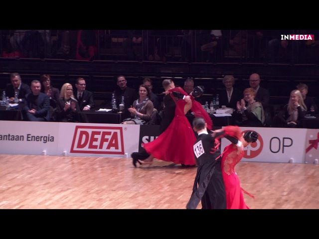 Madis Abel - Aleksandra Galkina | R3 Quickstep | Finnish Open 2018
