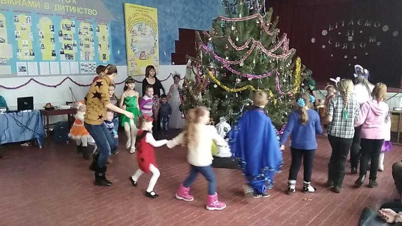 Хороводи з Дідом Морозом та Снігуронькою