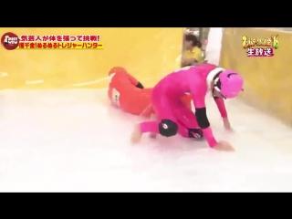 Японское телешоу скользкая лестница/Мне не Cлабо  | Опросы