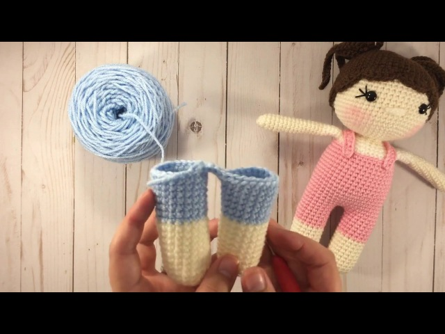How To Attach Crocheted Doll's Legs