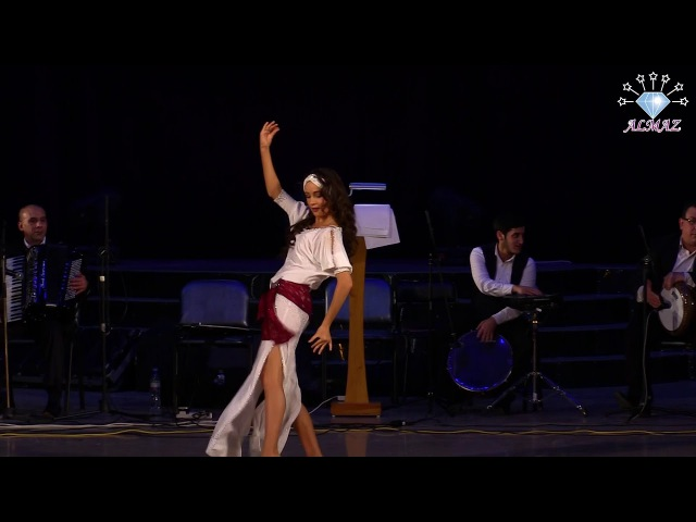Anastasya Korobova ALMAZ ORKESTR improvisation baladi with tabla